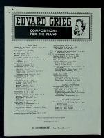Dance Caprice Op 28 No 3 from Album Leaves, Edvard Grieg