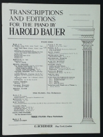 Bach Chorale From Cantata No 147. Schirmer 1932