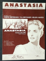 Anastasia by Paul Francis Webster & Alfred Newman 1956