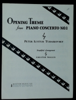 Opening Theme From Piano Concerto No 1, Simplified
