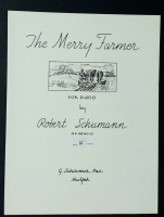 The Merry Farmer For Piano Op 68 No 10 by Robert Schumann