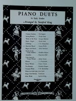 Short'nin' Bread Piano Duet Arranged by Stanford King 1939