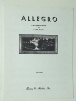 Allegro (Two Pierrot Pieces) by Cyril Scott 1929