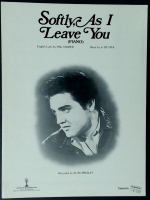 Softly As I Leave You, Elvis Presley 1962