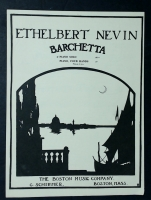 Barchetta Piano Solo by Ethelbert Nevin Op 21 No 3