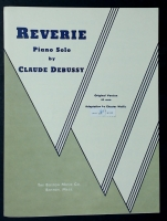 Reverie by Debussy, Arranged by Chester Wallis 1939