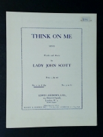Think On Me, Lady John Scott. No 1 in Eb. 1950