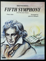 Beethoven's Fifth Symphony Level 4 Arr by John Schaum 1976