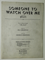 "Someone To Watch Over Me From ""Oh Kay"" 1926"