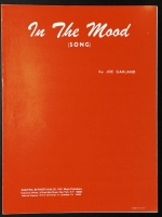In The Mood Joe Garland. Perf. by Glenn Miller 1960