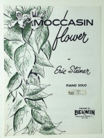 Moccasin Flower Piano Solo Eric Steiner 1959